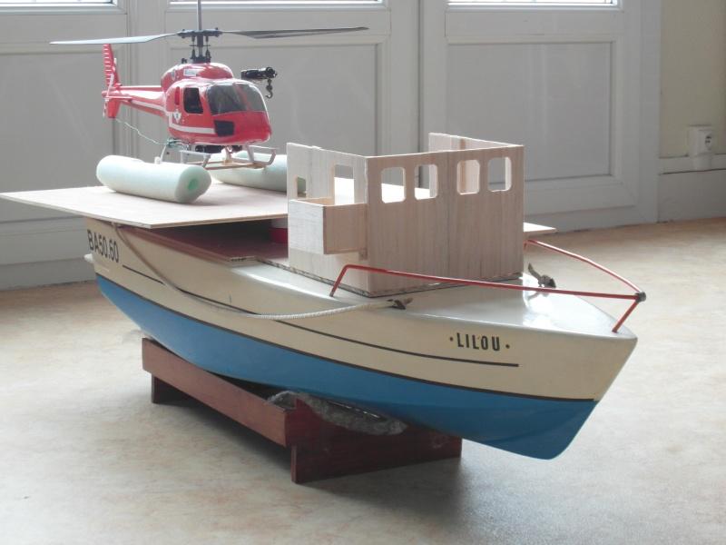 SAR 47N1 et N2 : navire porte-hélicoptère et vedette rapide - Page 5 Sam_4220