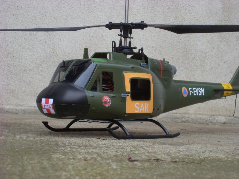 SAR 474 Bravo : Bell UH-1B version CombatSAR Sl384816