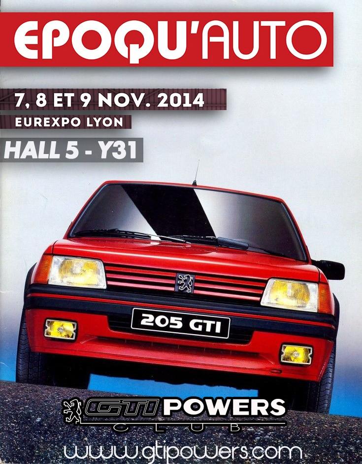 Epoqu'auto - Lyon - 7-8-9 Nov 2014 - Hall 5 Stand Y31 110