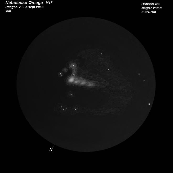 L'astrophoto et l'astrodessin des RAAGSO V R-omeg10