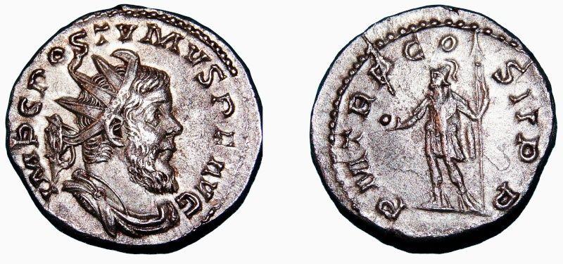 Rubans sur Antoninien de Postume Posthu10