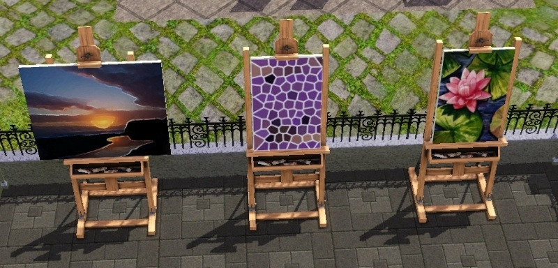 Brush Strokes - What's your Sim Painting? Scree101