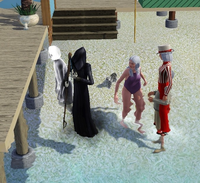 Sims who should be barred from boating. Eeeek! Screen96