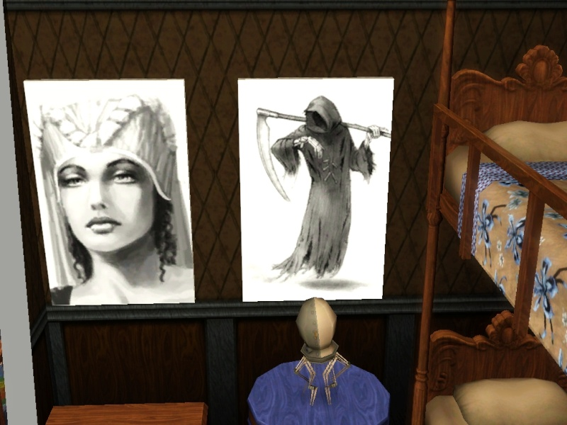 Brush Strokes - What's your Sim Painting? Screen99