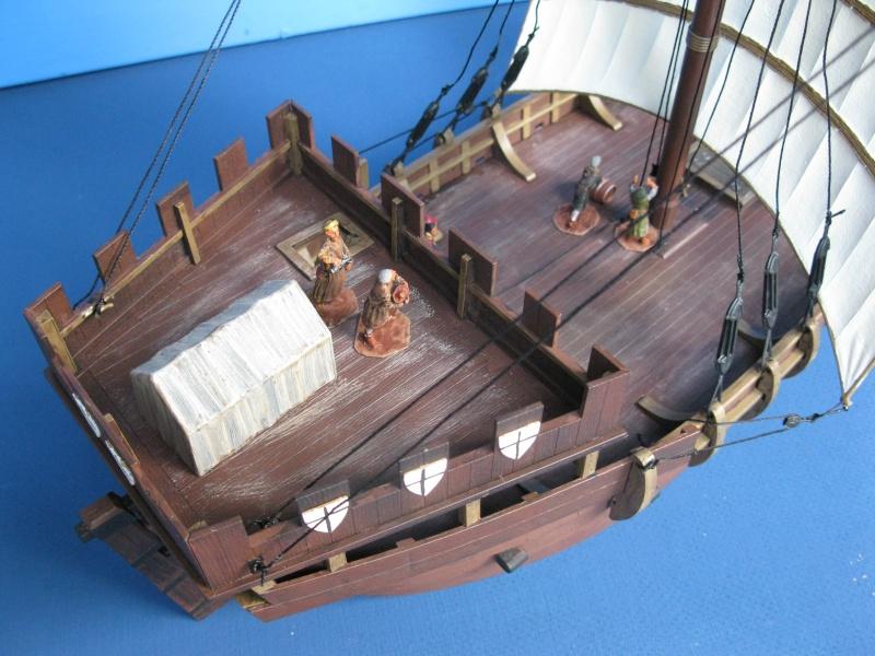 Schiff von Zvezda--Plastik--1/72--Kogge-- Img_0616