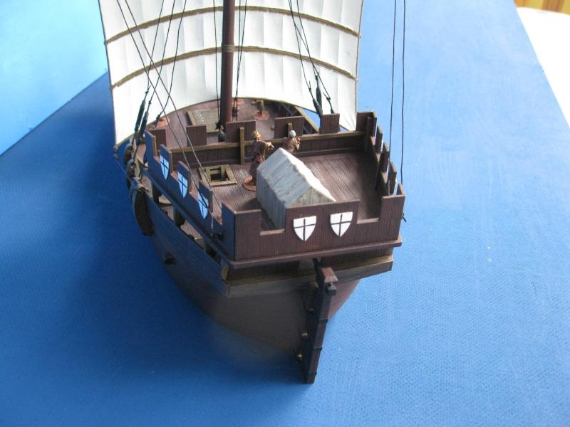 Schiff von Zvezda--Plastik--1/72--Kogge-- Img_0617