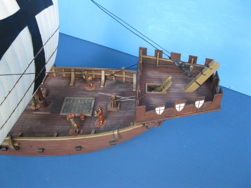 Schiff von Zvezda--Plastik--1/72--Kogge-- Img_0618