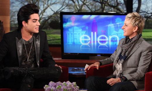 The Ellen De Generes Show : 10 : 2 : 2011 Adam-l16