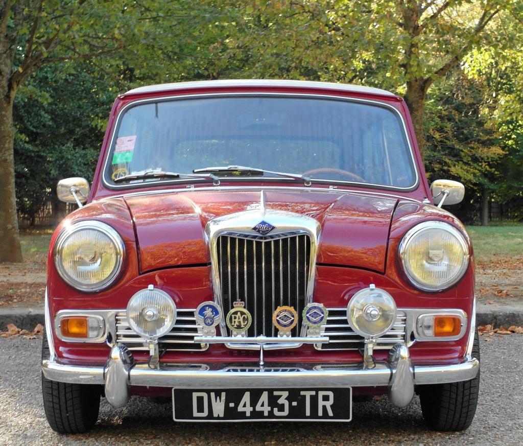 Rover Cooper 91 et Leyland 1100 77 et Riley Elf 67 - Page 9 Sam_3612