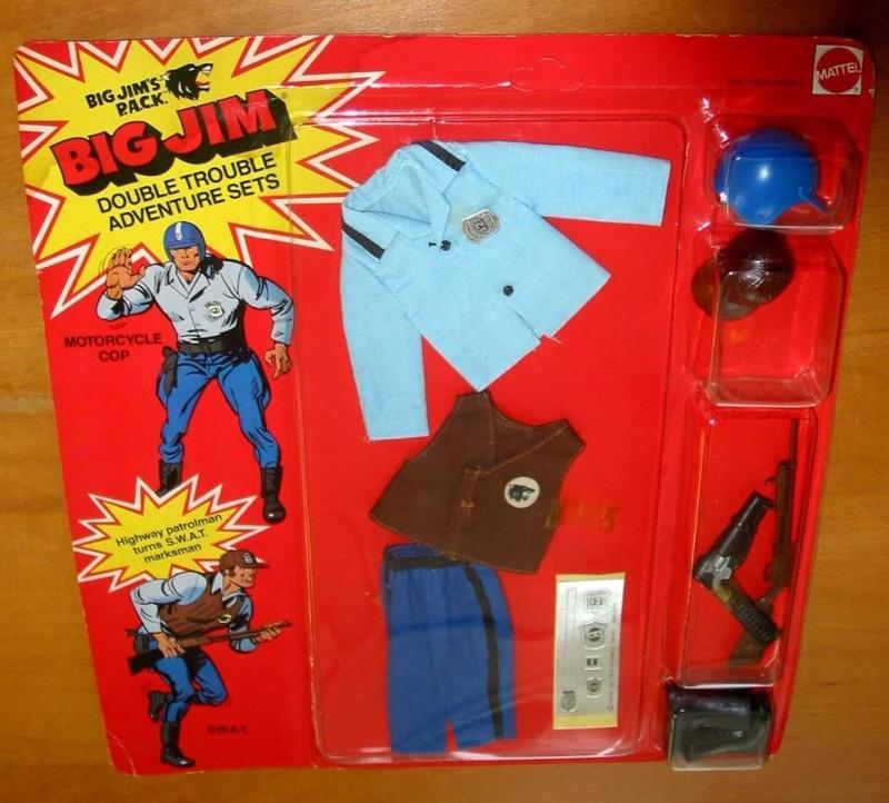 Big Jim's P.A.C.K. Double Trouble Adventure Sets Motorcycle Cop/S.W.A.T. No.9340 _5710
