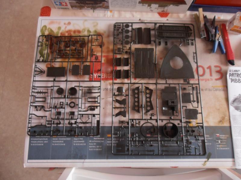 PBR 31 MkII 1/35eme. La peinture. P8270612