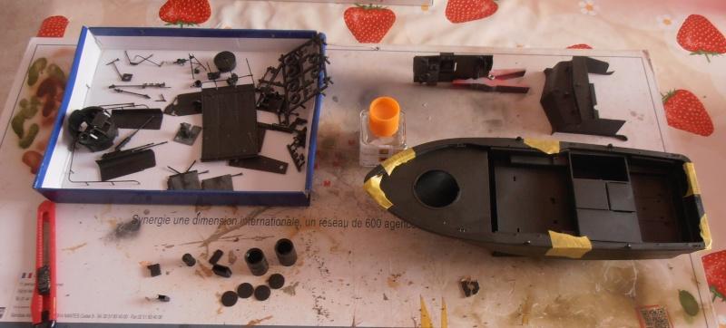 PBR 31 MkII 1/35eme. La peinture. P8270616