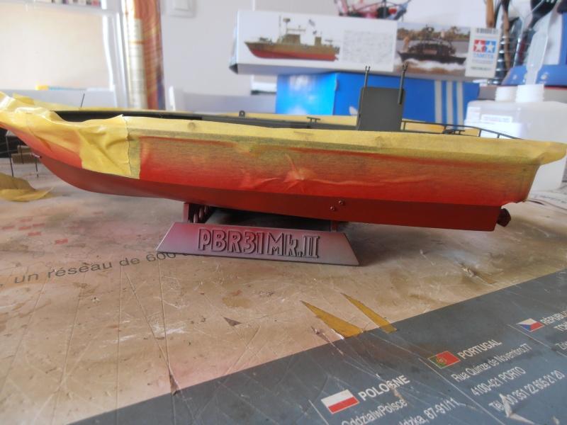PBR 31 MkII 1/35eme. La peinture. P8280710