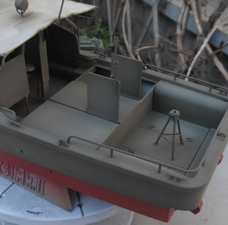 PBR 31 MkII 1/35eme. La peinture. P8280714