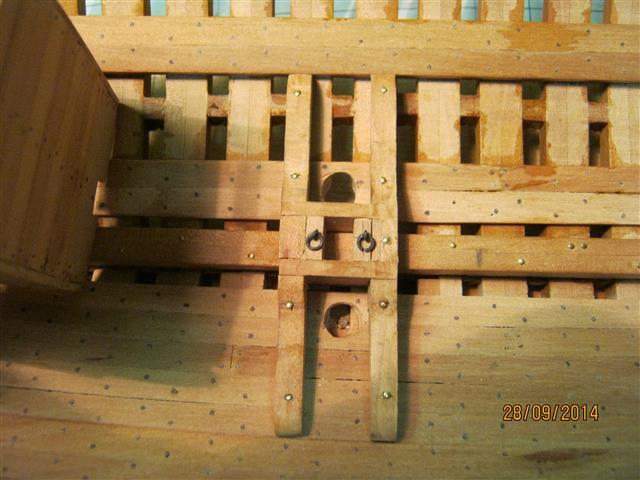L'AMARANTE corvetta 12 cannoni 1\36 G.DELACROIX - Pagina 7 7510
