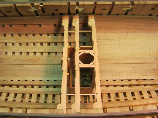 L'AMARANTE corvetta 12 cannoni 1\36 G.DELACROIX - Pagina 7 90_sma10
