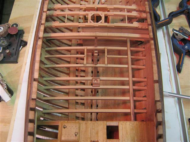 L'AMARANTE corvetta 12 cannoni 1\36 G.DELACROIX - Pagina 7 92_sma12