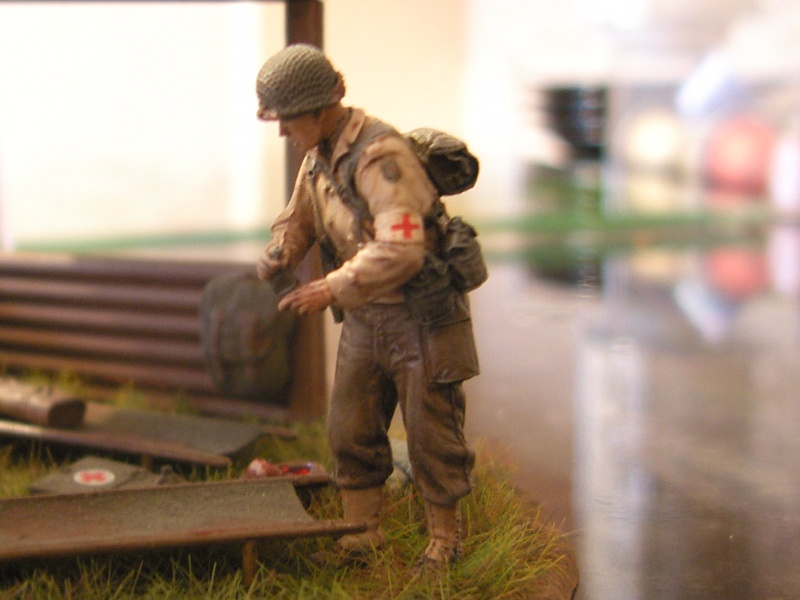 infirmier de la 1èere DI-US 1944 Sh100613