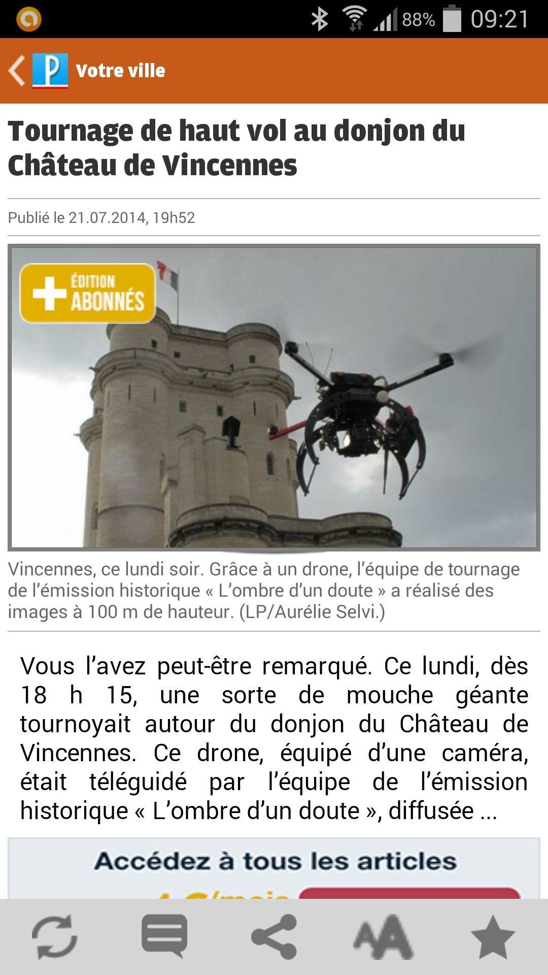 Reportage TV + Presse Screen10