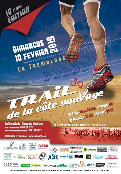 10/02/19 - Trail de la Côte Sauvage - Ronce les Bains  Affich13