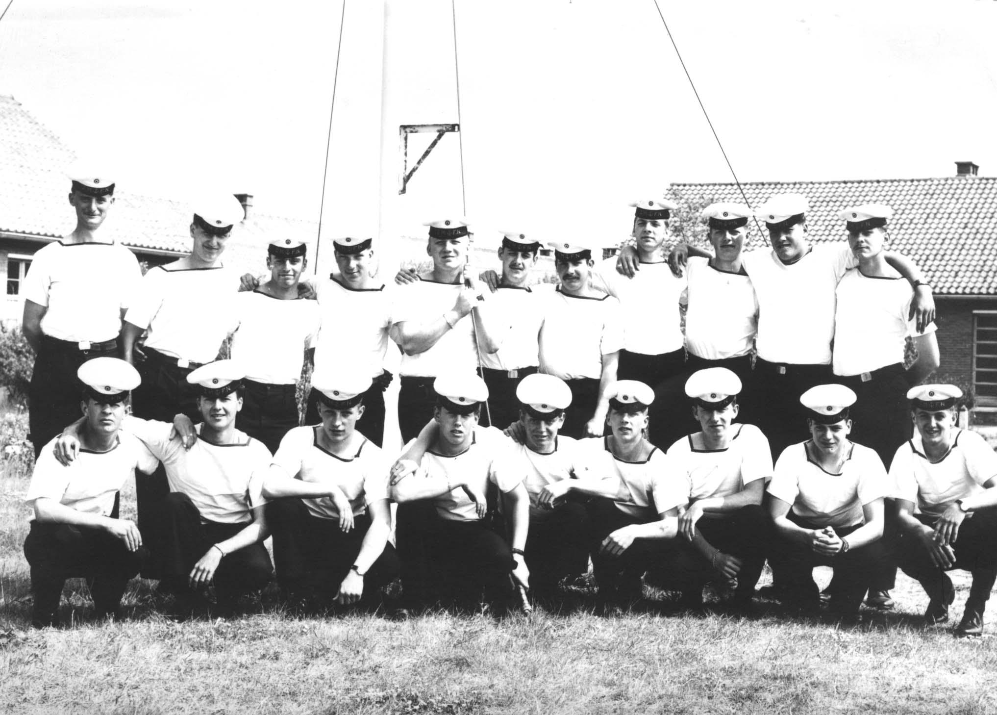 Ecole Navale Nieuwport/Lombartsijde - année 70 George10