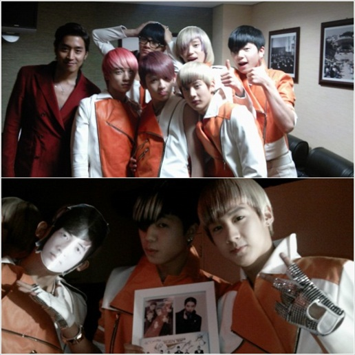 [Teen Top] TEEN TOP attends Eric's birthday party fan meet in place of Andy 20110268