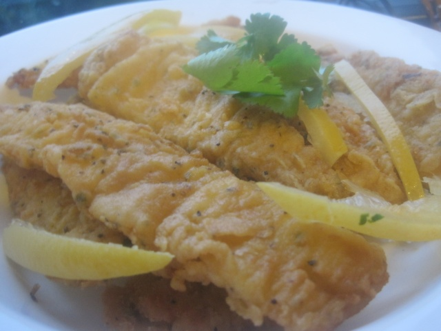 Moroccan fried sole with Charmoula / Filets de sole au Charmoula à la marocaine! 510