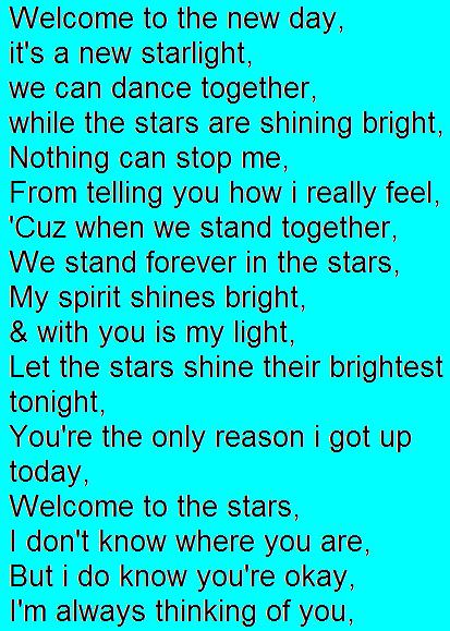 SONG LYRICS, SONGS, & POEMS! Starli10