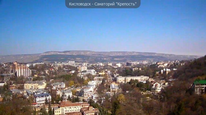 Вид на город Кисловодск. Dsdndd10