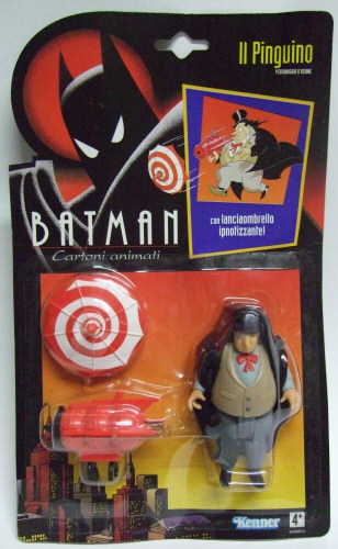 BATMAN ANIMATED SERIES  - BATMAN COMBAT BELT 1992 Batman10