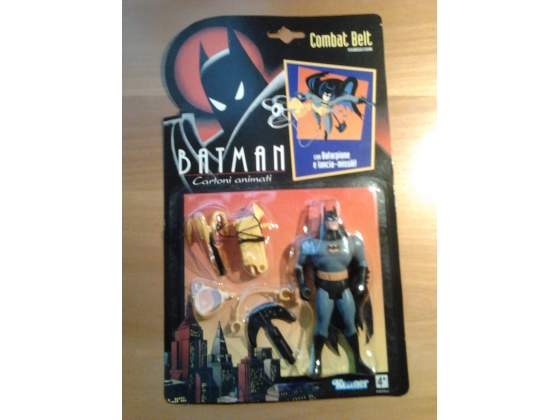 BATMAN ANIMATED SERIES  - BATMAN COMBAT BELT 1992 Combat11