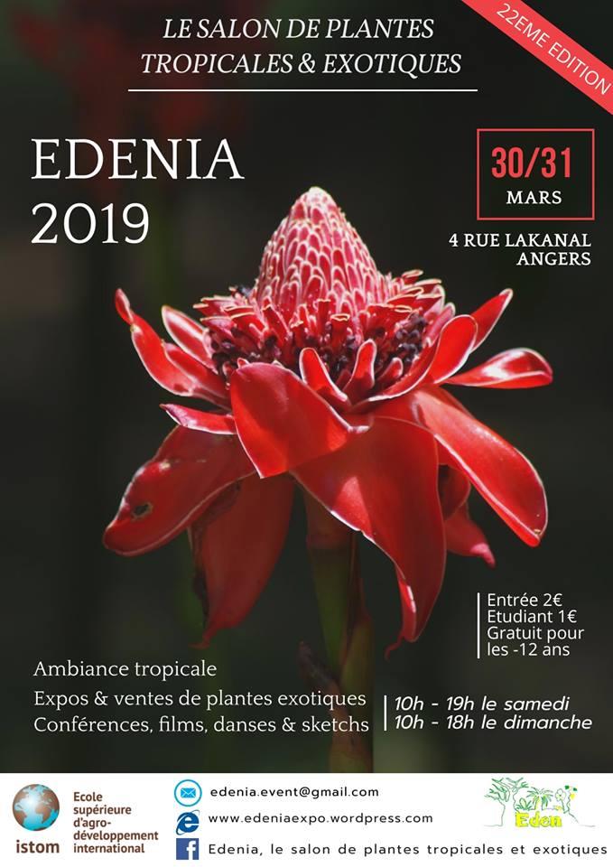 SALON EDENIA 2019  Affich10