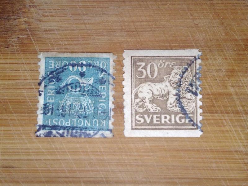Alte Briefmarken Schweden ??? 30012018