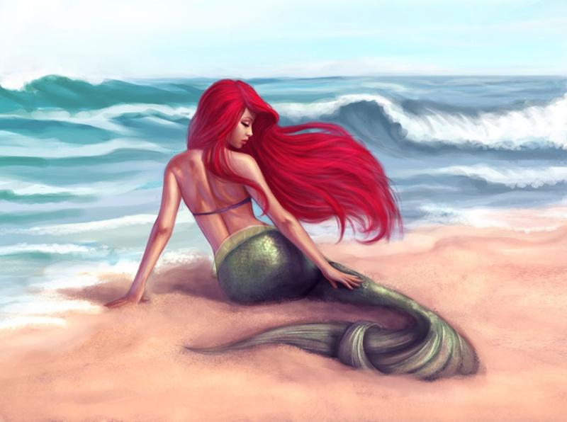 La Petite Sirène FanArts. - Page 2 Ariel_10