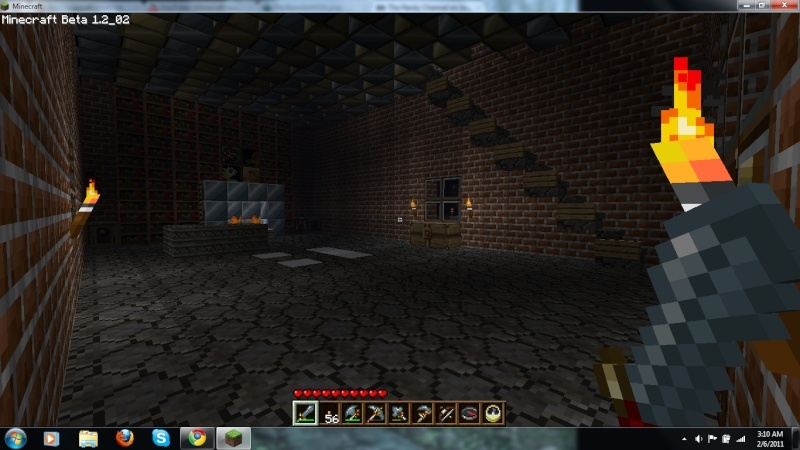 Your minecraft creations  Inside10
