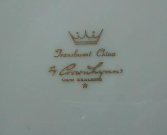 Crown Lynn Translucent China Transl11