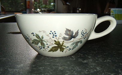 "Unusually shaped ""Vintage"" cup Vintag10"