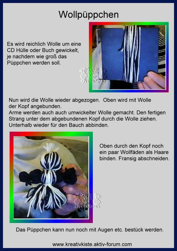 Allgemeine Bastelideen Wollpu11