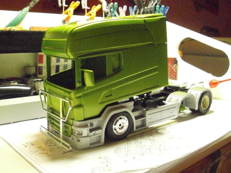 mon premier camion:un scania longline Scania14