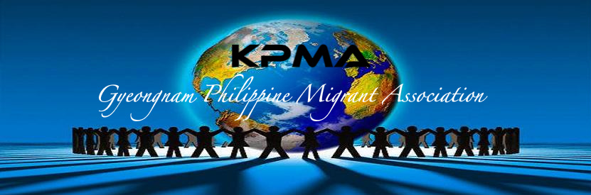 Gyeongnam Philippine Migrant Association - KPMA