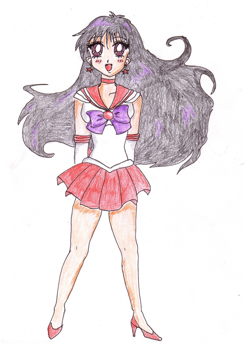 Esbossos de Sailor Moon Sailor12