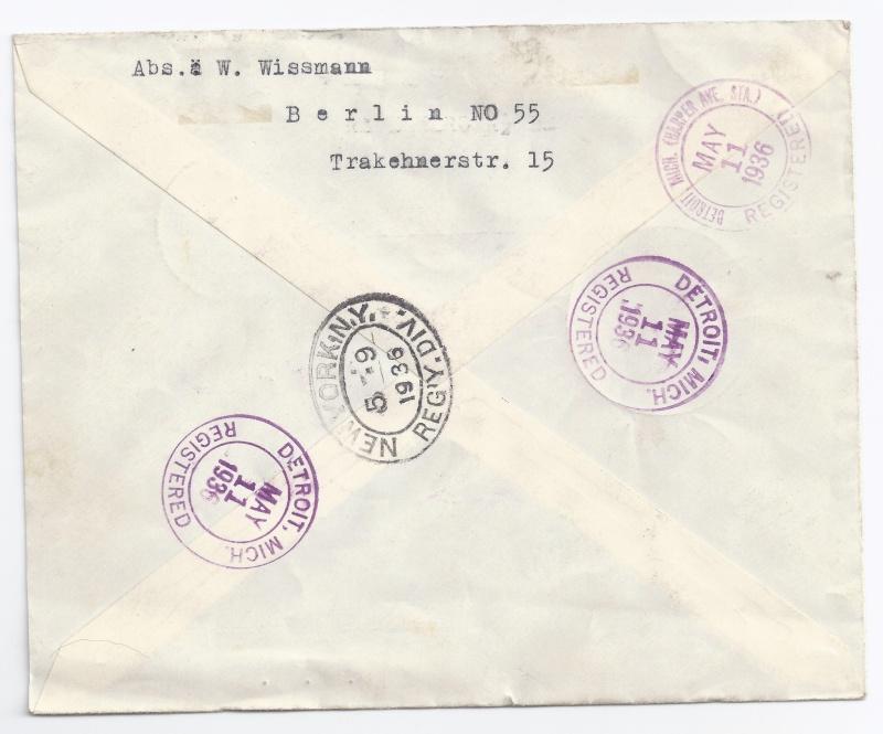 Zeppelinpost des LZ 129 - Seite 4 Brief110