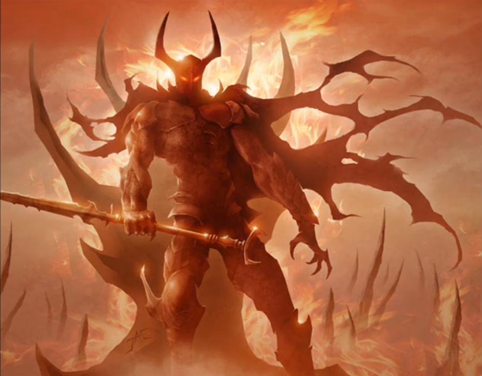 """(1 đại thiên thần sa ngã bị quỷ dữ chiếm trọn cả thể xác lẫn linh hồn)  Abaddon cũng cảm thấy bắt đầu e ngại Lucifer,hắn bảo""""ngươi muốn gì  Lucifer?""""."""