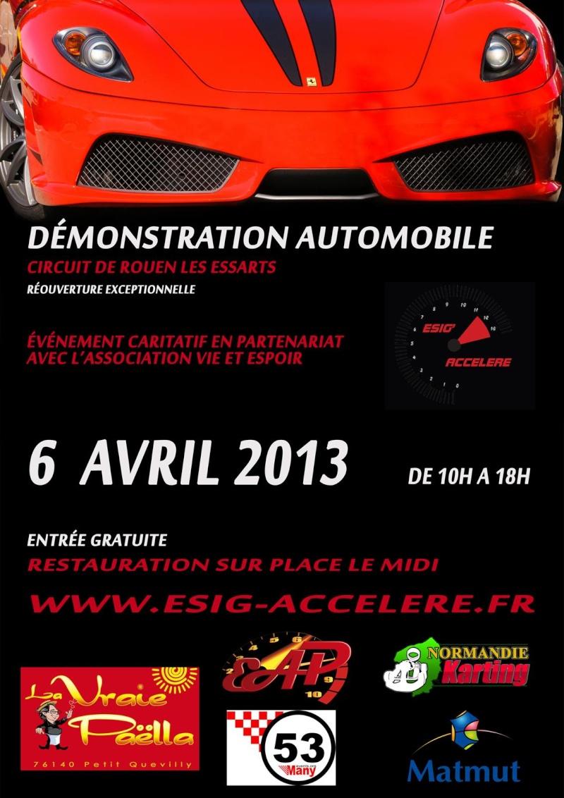 Rouen-Les Essarts 6 Avril 2013 ! Affich10