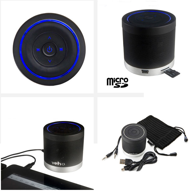 [MOBILEFUN.FR] test du haut-parleur universel Bluetooth Veho 360° M4 Tout10