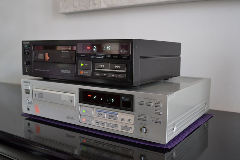 Lecteur Cd Sony CDP-111 Dsc_0014