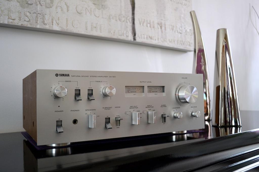 Amplificateur Yamaha Natural Sound CA-610 Dsc_0016