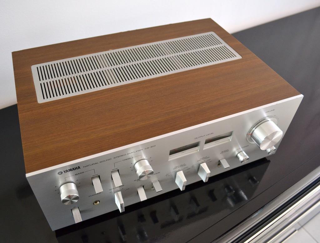 Amplificateur Yamaha Natural Sound CA-610 Dsc_0017