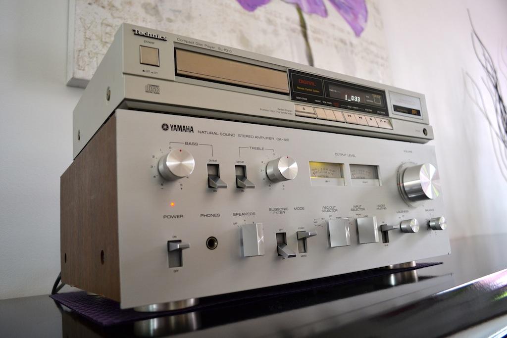 Amplificateur Yamaha Natural Sound CA-610 Dsc_0018