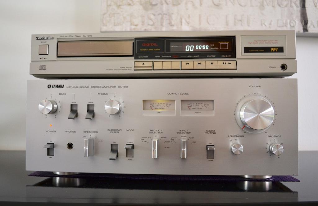 Amplificateur Yamaha Natural Sound CA-610 Dsc_0019